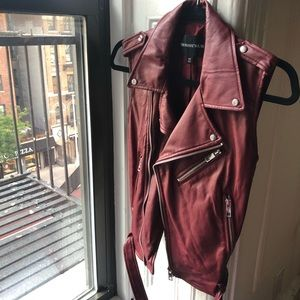 Who What Wear / Faux Leather Vest